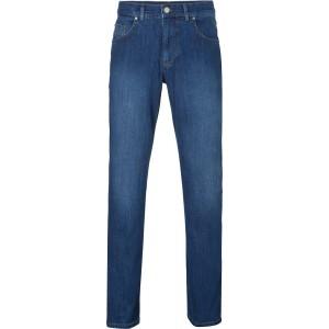 BRAX Herren Jeans Cooper Regular Fit Stoned Blue 81 32 30 Bekleidung