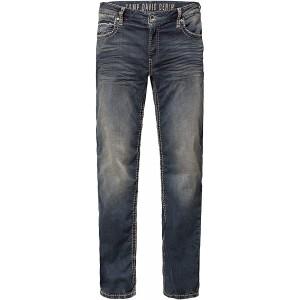 Camp David Herren Sweatmaterial im Denim Look Jeans Bekleidung