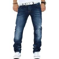 Cipo & Baxx Herren Jeans CD186A-bans Bekleidung