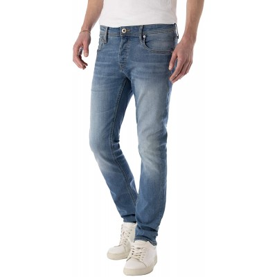 JACK & JONES Slim Fit Jeans Stretch Denim Herren Hose Slim Straight Bekleidung