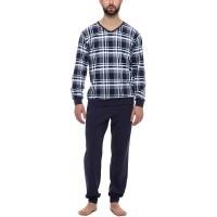 Timone Herren Schlafanzug TI30-107 Bekleidung