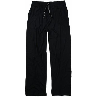ADAMO Schwarze Lange Schlafhose Übergrößen bis 10XL Bekleidung