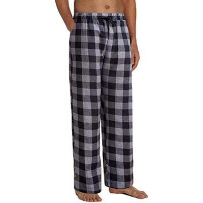 cypressen Herren Schlafanzughose Herren Jogginghose Fitnesshose Freizeithose Lang Baumwolle Pyjamahose Lange Karierte Nachtwäsche Bekleidung