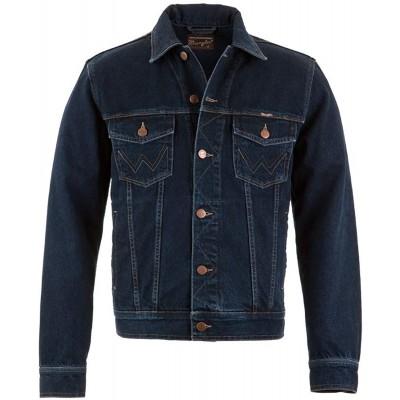Wrangler Herren Jeansjacke Authentic Western Jacket Bekleidung