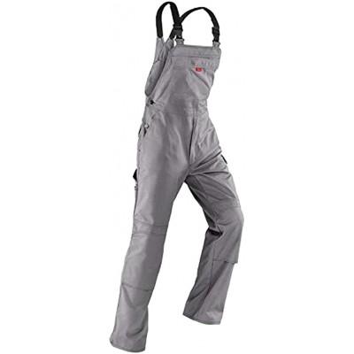 Kübler Inno Plus Uni-Dress mittelgrau Arbeitshose Gr. 106 Latzhose Diensthose Bekleidung