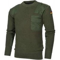 urbandreamz Bundeswehr Pullover Strickpullover BW Jäger Wolle 3 Farben Gr. 46-60 Bekleidung