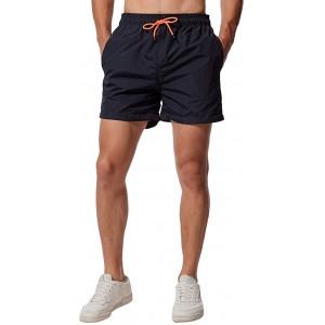 CHYU Herren Badeshorts Badehose Beachshorts Schwimmhose Schnelltrocknend Shorts Sporthose mit Mesh-Futter und Verstellbarem Tunnelzug Bekleidung