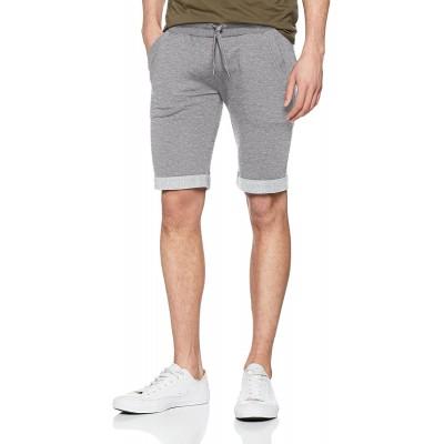 Urban Classics Herren Light Turnup Sweatshorts Shorts Bekleidung