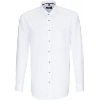 Seidensticker Herren Modern Langarm mit Kent-Kragen Bügelfrei Businesshemd Bekleidung