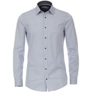 Venti Herren Hemd mit modischem Druck Body Fit Bekleidung