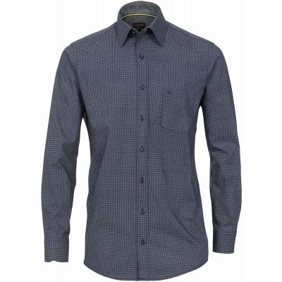 CASAMODA Herren Hemd mit modischem Druck Comfort Fit Bekleidung