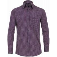 CASAMODA Herren Twill Hemd mit modischem Druck Comfort Fit Bekleidung