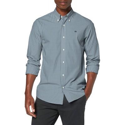 Scotch & Soda Herren Crispy Poplin Shirt Regular Fit Button Down Collar Freizeithemd Bekleidung