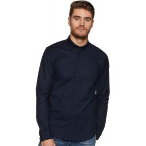 Scotch & Soda Herren Oxford Shirt Regular Fit Button Down Collar Freizeithemd Bekleidung