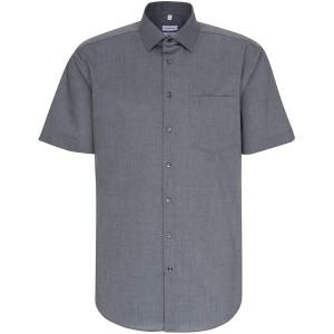 Seidensticker Herren Regular Kurzarm mit Kent-Kragen Bügelfrei Businesshemd Bekleidung