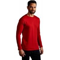 Promodoro Premium Langarmshirt Plus Size Herren Bekleidung