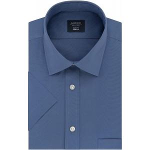 Arrow Herren Short Sleeve Dress Shirt Slim Fit Stretch Solid Smokinghemd Bekleidung