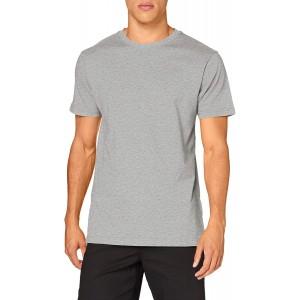 Build Your Brand Herren T-Shirt Round Neck Tee Basic Oberteil für Männer erhältlich in vielen Farben Gößen XS - 5XL Bekleidung