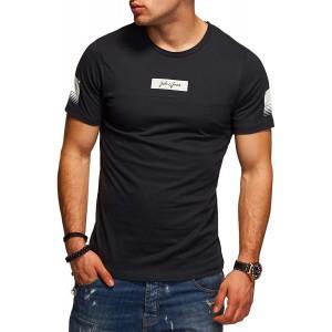 JACK & JONES Herren T-Shirt O-Neck Print Shirt Kurzarmshirt Casual Streetwear Bekleidung