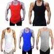 Männer Muskel Weste Einfarbig Bodybuilding Tank Top Hebe Fitness Stringer Übung Laufen Outfit Tops M-XL Bekleidung