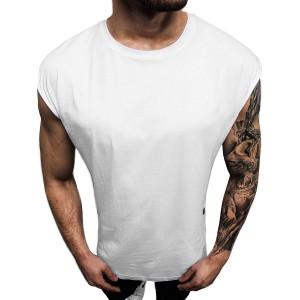 OZONEE Herren Tank Top Tanktop Tankshirt Ärmellos Bodybuilding Shirt Unterhemd T-Shirt Muskelshirt Achselshirt Ärmellose Training Gym Sport Fitness Freizeit Rundhals O 1265Z Bekleidung