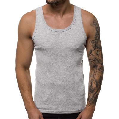 OZONEE Herren Tank Top Tanktop Tankshirt Ärmellos Bodybuilding Shirt Unterhemd T-Shirt Muskelshirt Achselshirt Ärmellose Training Gym Sport Fitness Freizeit Rundhals JS NB001 Bekleidung