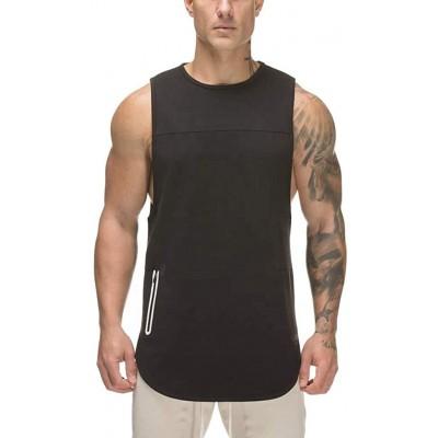 Sannysis Tank Top Männer Fitness Muskel Shirt Herren Unterhemd Ärmellos Turnhallen Bodybuilding Singulett T-Shirt Sport Shirt Tops Weste Bekleidung