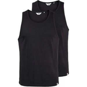 !Solid Masil Herren Tank Top mit Rundhalsausschnitt aus 100% Baumwolle im 2er oder 3er Pack Bekleidung